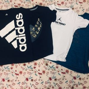 Other - Bundle of 4 boys T-Shirts size 6-7